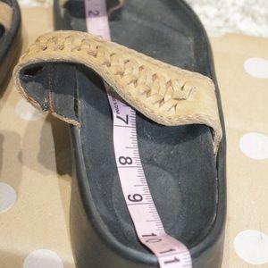 Birkenstock Shoes - Tatami by Birkenstock Tan Leather Braided Sandals